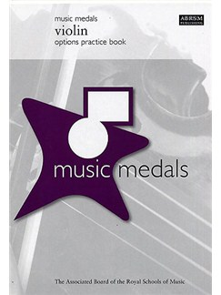 ABRSM Music Medals: Violin Options Practice Book Books | Violin