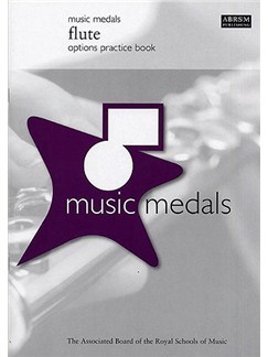 ABRSM Music Medals: Flute Options Practice Book Books |