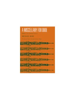 Michael Rose: A Miscellany For Oboe Book 2 Books | Oboe, Piano Accompaniment