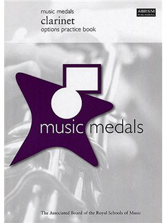 ABRSM Music Medals: Clarinet Options Practice Book Books |