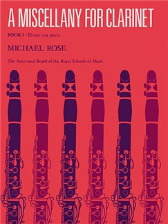 A Miscellany For Clarinet Book 1 Books | Clarinet, Piano