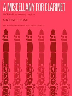 A Miscellany For Clarinet Book 2 Books | Clarinet, Piano Accompaniment