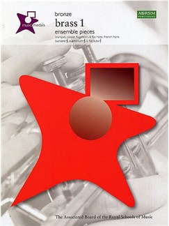 ABRSM Music Medals: Brass 1 Ensemble Pieces - Bronze Books | Brass Instruments