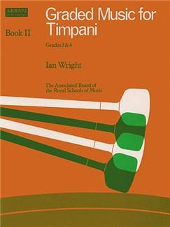 Graded Music For Timpani - Book 2 Grades 3-4 Books | Timpani