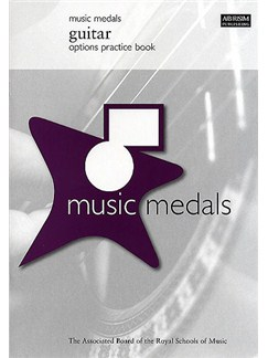 ABRSM Music Medals: Guitar Options Practice Book Books | Guitar