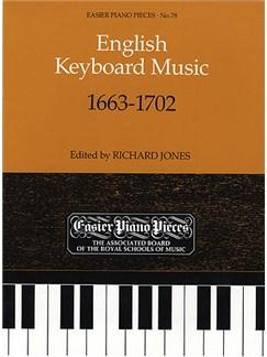 English Keyboard Music 1663-1702 Books | Piano, Harpsichord