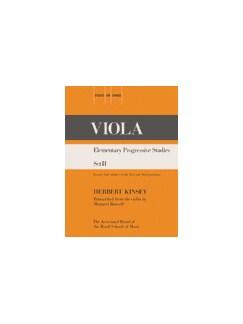 Elementary Progressive Studies Set II (Viola) Books | Viola