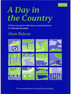 Alan Ridout: A Day In The Country (Descant Recorder) Books | Descant Recorder, Piano Accompaniment