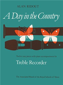 Alan Ridout: Day In The Country (Treble Recorder) Books | Treble Recorder, Piano Accompaniment
