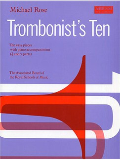 Michael Rose: Trombonist's Ten Books | Trombone, Piano Accompaniment