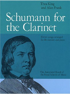 Schumann For The Clarinet Books | Clarinet, Piano Accompaniment