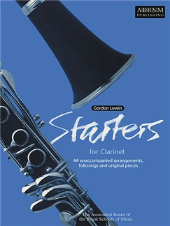 Gordon Lewin: Starters For Clarinet Books | Clarinet, Piano Accompaniment