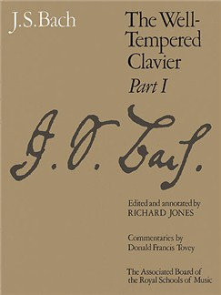 J.S. Bach: Well-Tempered Clavier - Part 1 Books | Harpsichord, Piano