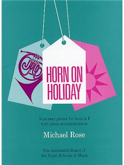 Michael Rose: Horn On Holiday Books | Horn, Piano Accompaniment