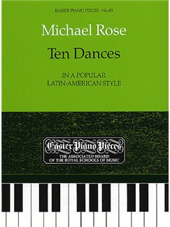 Michael Rose: Ten Dances Books | Piano