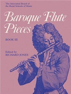 Baroque Flute Pieces - Book 3 Books | Flute, Piano Accompaniment