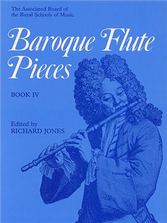 Baroque Flute Pieces - Book 4 Books | Flute, Piano Accompaniment