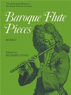 Baroque Flute Pieces - Book 5 Books | Flute, Piano Accompaniment, Continuo