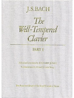 J.S. Bach: The Well Tempered Clavier - Part 1 (Hardback) Books | Keyboard Instruments