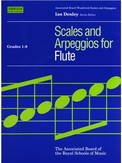 ABRSM Scales And Arpeggios For Flute Grades 1-8 Books | Flute