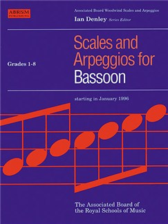 Scales And Arpeggios For Bassoon Grades 1-8 Books | Bassoon