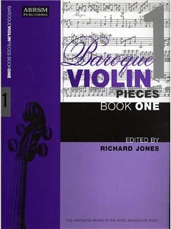 Baroque Violin Pieces - Book 1 Books | Violin, Piano Accompaniment