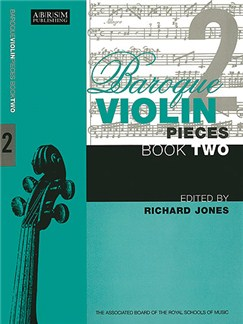 Baroque Violin Pieces Book 2 Books | Violin, Piano Accompaniment