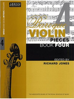 Baroque Violin Pieces Book 4 Books | Violin, Piano Accompaniment