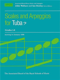 Scales And Arpeggios For Tuba Grades 1-8 Books | Tuba