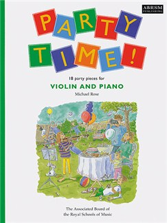Michael Rose: Party Time! For Violin And Piano Books | Violin, Piano Accompaniment
