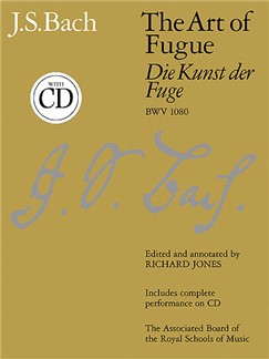 J.S. Bach: The Art Of Fugue (Die Kunst Der Fuge) BWV 1080 Books and CDs | Harpsichord (Piano)