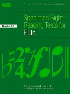 ABRSM Specimen Sight-Reading Tests For Flute Grades 6-8 Books   Flute