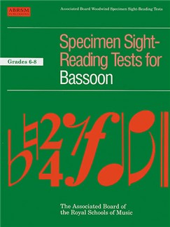 Specimen Sight-Reading Tests For Bassoon Grades 6-8 Books | Bassoon