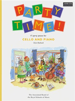Alan Bullard: Party Time! 17 Party Pieces For Cello and Piano Books | Cello, Piano Accompaniment