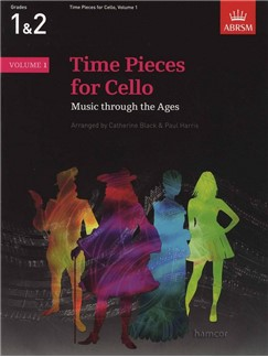 Time Pieces For Cello - Volume 1 Books   Cello, Piano Accompaniment