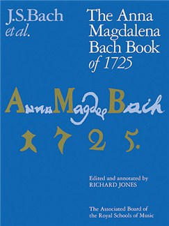 J.S. Bach: The Anna Magdalena Bach Book Of 1725 Books | Piano