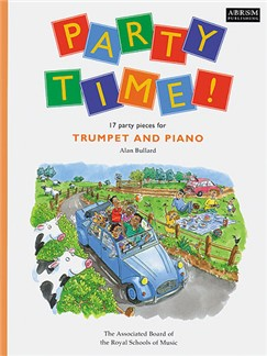 Alan Bullard: Party Time! - 17 Party Pieces For Trumpet And Piano Books | Trumpet, Piano Accompaniment