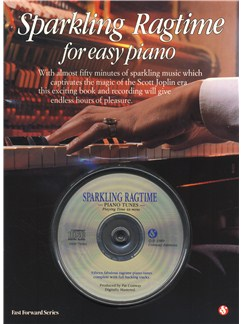 Sparkling Ragtime For Easy Piano Books and CDs | Piano