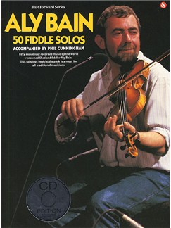 Aly Bain: 50 Fiddle Solos CD et Livre | Violon