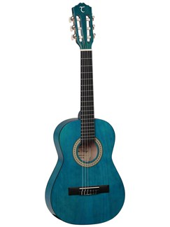 Tanglewood: DBT 12 TBL 1/2 Size Classical Guitar - Blue Instruments | Classical Guitar