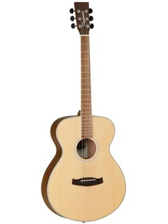 Tanglewood Discovery Exotic Folk Acoustic Guitar - Ovangkol Back & Sides Instruments | Acoustic Guitar