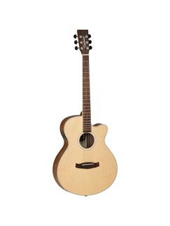 Tanglewood: Discovery Super Folk Electro-Acoustic Guitar (Black Walnut) Instruments | Electro-Acoustic Guitar