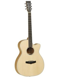 Tanglewood: Discovery Super Folk Electro Acoustic Guitar (Pacific Walnut) Instruments | Electro-Acoustic Guitar