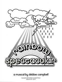 Debbie Campbell: Rainbow Spectacular (Pupil's Book) Books | Voice, Piano Accompaniment