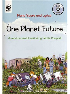 Debbie Campbell: One Planet Future - Piano Score Books and CDs | Ensemble