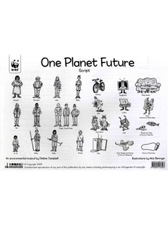 Debbie Campbell: One Planet Future - Twelve Pupil Scripts Books | Lyrics Only