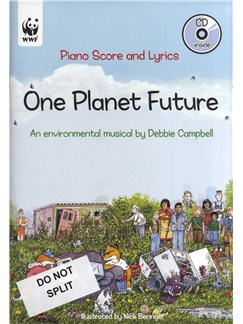 Debbie Campbell: One Planet Future - Offer Pack Books and CDs | Voice, Piano Accompaniment