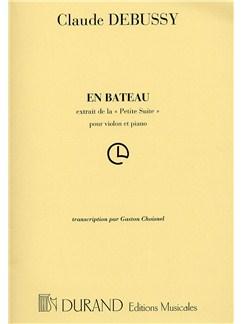 Claude Debussy: En Bateau (Violin and Piano) Books | Violin, Piano Accompaniment