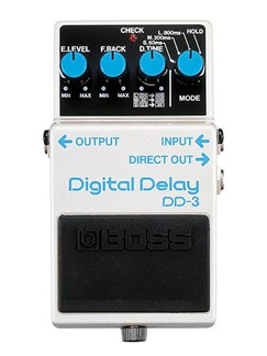 Boss: DD-3 Digital Delay Pedal  | Electric Guitar
