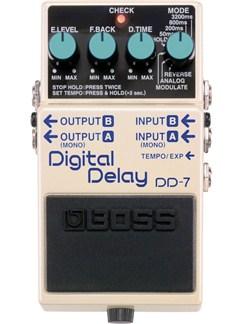 Boss: DD-7 Digital Delay Pedal  | Electric Guitar